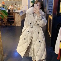 Hot Sale Winter Women Real Fur Collar 90% White Duck Down Ja...