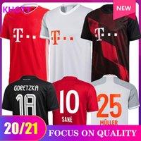 20 21 fãs player versão SANE LEWANDOWSKI COMAN Bayern de Munique final jérsei de futebol 2020 21 camisa de futebol NIANZOU MUNCHEN Gnabry HOMENS