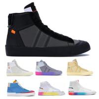 Kapalı Orta Erkek Koşu Ayakkabıları Grim Reaper Serena Williams İyi Bir Oyun İyi Oyunlar Tüm Hallow Mor Blazeres Kadın Kaykay Eğitmenler Sneakers