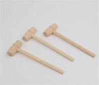 Мини деревянный молоток Шары Pounder Замена древесины Mallets ювелирные изделия DIY ремесла