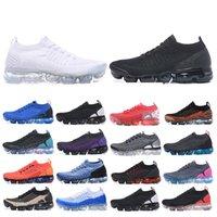 La nueva llegada 2018 Fly 2.0 zapatos corrientes de los hombres de triple negro blanco Chaussures láser Orange Mujeres Hombres Entrenadores Zapatos zapatillas de deporte al aire libre Deportes