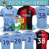 S-4XL 2020 21 Coventry City Futbol Formaları Godden Ostigard Jobello Walker Da Kosta Hamer Ev Mavi Futbol Gömlek Tayland Erkekler Üniforma
