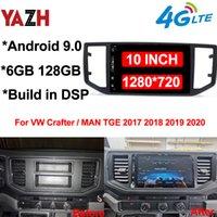 6GB 128GB Android 자동 라디오 플레이어 VW Crafter / Man TGE 2017 2018 2019 2020 자동차 DVD 헤드 유닛 블루투스 5.0 GPS 네비게이션