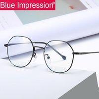 2020 New Arrival filles Anti Bleu Lunettes de blocage UV400 lunettes pour ordinateur Jambes Aluminium Protection des yeux de femmes