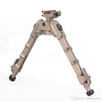Caccia Airsoft AR 15 Accessori Tactical SR-5 Quick Detach BiPod Fit 20mm Picatinny Rail Beak Tan