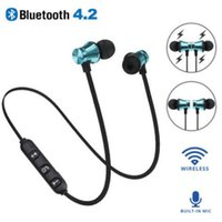 XT11 Bluetooth Headphones Magnetic Wireless Running Sport Earphones Headset BT 4.2 with Mic MP3 Earbud For Smartphones in Box