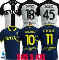 2020 2021 Parma Calcio soccer jerseys Darmian Gervinho Inglese Kucka 20 21 Karamoh Cornelius Kulusevski CYPRIEN Adorante Football shirts