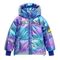 2020 neue Winter-Kinder Mäntel Kinder unten Mantel mit Kapuze Kindmantel keep warm und Jungen Mäntel Mädchen Mantelkindoberbekleidung Mädchen Jacken B2527