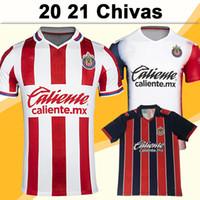 20 21 A. Pulido Lopez Мужские футбольные трикотажки Chivas de Guadalajara Home Red White Alet Прочь 3-й красный черный футбол рубашка с коротким рукавом
