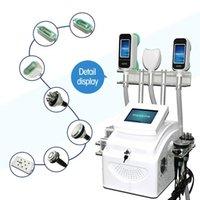Afslanken Machine Cavitatie Verwijderingsvet 3 in 1 Afslanken Mooie Nieuwste Lipo Cryo 360 Graden Vet Vriezing Ultrasone Cavitatie Machine