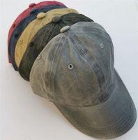 Moda Rahat Yeni Yıkanmış Pamuk Beyzbol Şapkası At Kuyruğu Cap Erkekler ve Kadınlar için Bir Delik Kapaklı WCW522