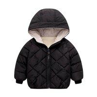 Benemaker бомбардировщик куртка для девочки мальчик детская зимняя комбинезона одежда теплые Parkas Coats детская детская ветровка верхняя одежда YJ026 LJ201126