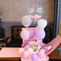 Sürpriz kutusu doğum günü partisi önerisi süslemeleri balon şerit doğum günü hediyesi paketleme patlama kutusu dekoratif düğün boxes1