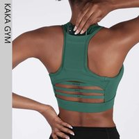 Woman Back pocket Fitness Bras Top Academia Sports Bra Activ...
