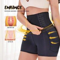 بالإضافة إلى حجم bodyshaper المرأة الخصر المدرب الجسم المشكل البطن السيطرة ارتداءها مثير ملابس داخلية التخسيس مشد تنفس بعقب رفع T200707