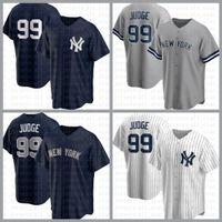 NOUVEAU Custom York Hommes Baseball Jersey 99 Aaron Juge 2 Derek Jeter 45 Gerrit Cole 26 DJ Lemahieu 25 Gleysber Torres 23 Don Mattingly Blanc