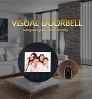 Türklingel 2,8 Zoll 720p Sichtweite Türklingel Peephol-Viewer-Video-Tür-Telefon1