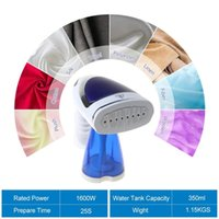 Folding Handheld Ironing Machine 1600W Mini Garment Clothe Steamer Electric Iron R9CD