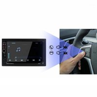 Android GPS Posicionamiento Navegación Universal All-in-One Machine Coche Control Central Doble Spindle Pantalla 7 Inch1
