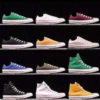 2021 Yeni Yıldız Büyük Boy 35-45 Yüksek Üst Rahat Ayakkabılar Düşük Üst Stil Spor Yıldız Chuck Klasik Tuval Ayakkabı Sneakers erkek / Kadın Tuval V5ey # 9