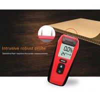 Analyseur d'humidité du bois LCD, humidité du bois, matériaux de construction, portable quatre humides et testeur de température1