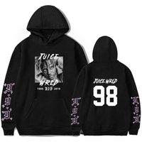 Juce Wrld Hoodie Harajuku R.I.P. Respect Rapper Juice Wrld Hoodie Sweatshirt Men Women Juice 999 Oversized