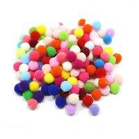 Сторона украшения Рождественские украшения шарики помпом для DIY смешанные цвет плюшевые 10 мм 15 мм 20 мм 25 мм 30 мм 45 мм детей детские игрушки мяч1