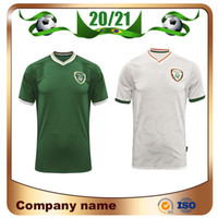 Maillots de football 20/21 Irlande Jersey de football 2021 Accueil Irlande Équipe nationale Thaïlande Qualité T-shirt de football à manches courtes