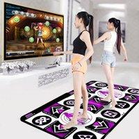Sensores de movimento Pads de dança 165x93cm pad dançando esteira de passo antiderrapante Double Mats Mats Pé impressão Jogo Inglês para PC TV