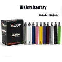 Vizyon Spinner 2 Pil 1600 mAh Ayarlanabilir Gerilim Ego Büküm E-Sigaralar Pil 3.3 ~ 4.8 V Spinner II 510 Konu DHL Ücretsiz