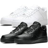 Klasikler 1 Düşük 07 LV8 Retro Erkek Koşu Ayakkabıları Basit Stil Tüm Beyaz Üçlü Siyah Açık Spor Kadınlar Düz Sneakers 315122-001 315122-111