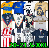 20 21 Club America Soccer Jerseys 2020 2021 Xolos de Tijuana Tigres Unam Guadalajara Chivas Cruz Azul Jersey Football Hemden