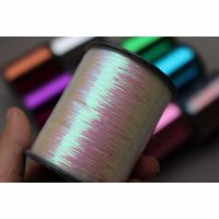 "TigoFly 1 Spool 16 Цвета 8000 м Мишура вспышки вспышки милара Милара Мишура Sparkle Flash Tube Tube Привязка Материалы Ширина 1/92 ""201019"