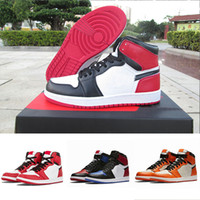 Union 1s TOP Factory Version 1 storm blue varsity red designer Basketball Shoes mens trainers New 2019 Genuine Leather Sneakers without Box