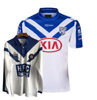 Top New 1985 2019 2020 Bulldogs Rugby Jerseys Rugby League Jersey 19 20 Camisas
