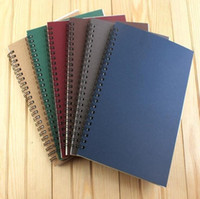 2020 nouveau papier portable livre portable réutilisable Journal spirale A5 scolaire Sujet College Ruled personnalisée Publicité logo WY866w
