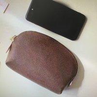 M47515 N60024 البسيطة حقيبة مستحضرات التجميل للنساء ماكياج حقائب صغيرة ماكياج الحقيبة أكياس التخزين المحمولة حالات محفظة السفر التجميل محفظة
