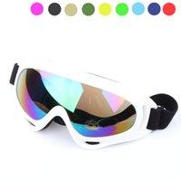 스키 안경 X400 UV 보호 스포츠 스노우 보드 스케이트 스키 고글