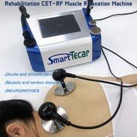Tiefheizung Radiofrequenz Physiotherapie Tecar-Therapiegeräte Ret CET-Griff für Schmerzlinderung und Fettabbau