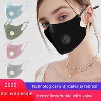 バルブ防塵洗える氷の絹のような綿の顔のマスクを持つカスタマイズされた3Dデザインされたマスク