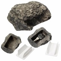Stone Key Storage Box Rock Hidden Hide In Stone Security Saf...