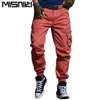 Pantalon pour hommes Misniki 2021 Automne Tactique Cargo Homme Casual Pantalon long de poche Multi Poche 29-38 Cyg3851