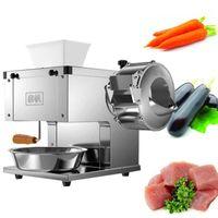 Kleiner kommerzieller Desktop Fleisch Slicer Gemüseschneider Elektrische VS Manuelle Fleisch Gemüse und Shredder1