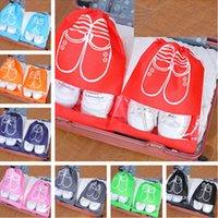 9 couleurs skrowstring chaussures chaussures chaussures appartements rangements conteneurs sacs étanche Pouch Organisateurs Travel Home Hôtel Gym Gym Rack H12708