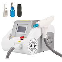 Nuovi arrivi macchina per rimozione del tatuaggio Q commutata ND YAG laser 532nm1064nmmmnmm mm1064nmmmnmm attrezzature per la rimozione della ruga del pigmento del sopracciglio