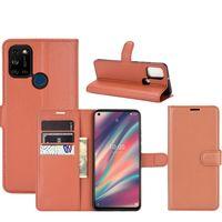 Dla Wiko Widok 5 5Plus Premium PU Leather Flip Portfel Case Pokrywa z uchwytem kart Zobacz 3 lite