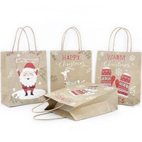 12pcs Large Kraft Paper Bag Christmas Gift Bags with Handles...
