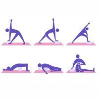 Yardım Gym Pilates Egzersiz Fitnes Şekillendirme Sağlık Eğitimi Yoga Kaymaz Yastıklar VT1896 Bolster Esneme EVA Yoga Block Köpük Tuğla