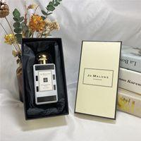 جودة عالية JO Malone London Perfume Parfums Rose Magnolia English Orange Biters 100ml Wild Bluebell Cologne Perfumes Fragrances -نساء