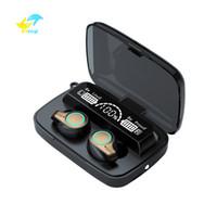 VITOG TWS M18 Earbuds Bluetooth 5.1 Fone de ouvido 9D Stereo Stereo Sports Wille Headset 2200mAh Caixa de carregamento